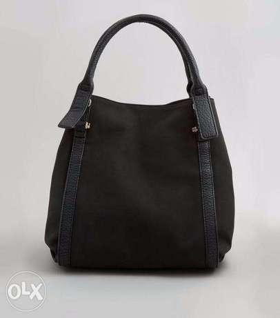 Brand New Black Slouchy NEW LOOK TOTE Handbag Wuse II - image 7