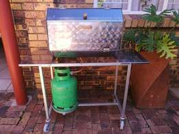 Spit Braai (Gas operated with Stand) + Accessories