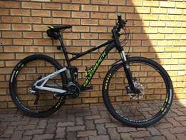 "Silverback Sido 2 dual suspension Large 29"" Mountain bike for sale"