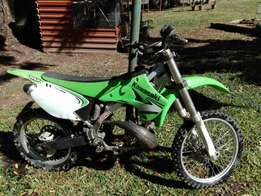 2007 kawasaki kx 250 rolling chassis for sale or swop PRICE DROPPED