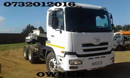 NISSAN UD 390 truck-tractor for sale