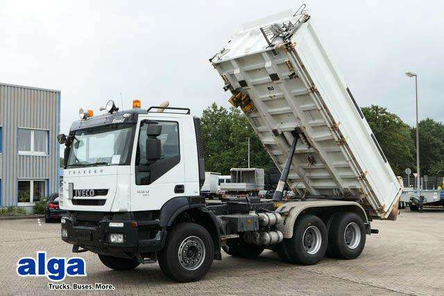 Iveco Ad260t45 6x4, Euro 5, Eev, Meiller - 2012