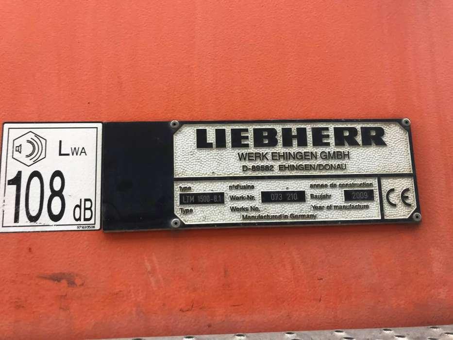 Liebherr LTM 1500-8.1 - 2009 - image 8