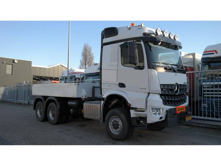 Mercedes-Benz AROCS 3352 180 tons push and pull HEAVY DUTY 6X6 EURO 6 9... - 2016 - image 12