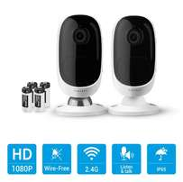 Wireless and Rechargable Battery Powered CCTV Cameras