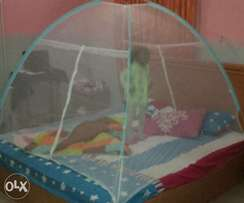 Used tent mosquito net