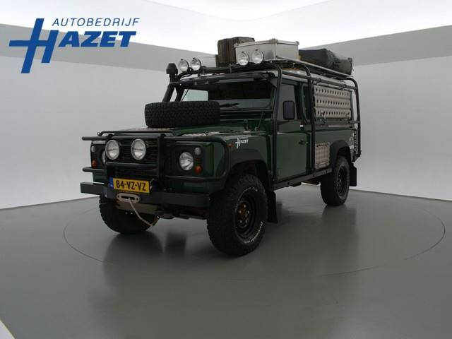 Rover land  defender 110 2.5 td5 expeditie klaar - 2001