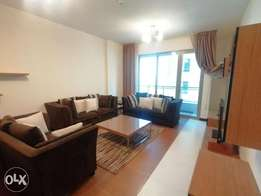 Delightful 2 BR FF Apart+Balcony+Closed Kitchen+Internet+Housekeeping