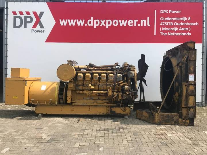 Caterpillar 3512 - 1.275 kVA Generator - DPX-11843 - 2008