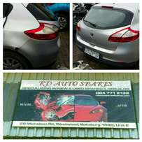 Stripping Renault Megane 3 for spare parts