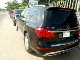 Foreign used Mercedes-Benz GL450 4matic 2013 model.