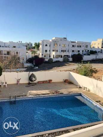 Qurum 3 bedroom villa near PDO with maid room swimming pool gym