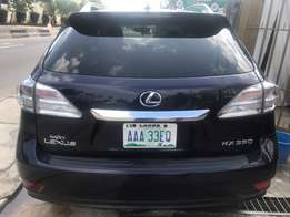 Extra neat cheap newly registered Lexus RX 350