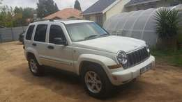 2005 Jeep Cherokee 3.7 Limited A/T 4X4, 142000 km selling ONLY R69900