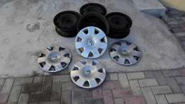 """14"""" Rims and Trims for VW"""