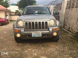 Super-Clean & Sound Liberty Jeep 2004 Limited wth Gaurantee. Nig Used