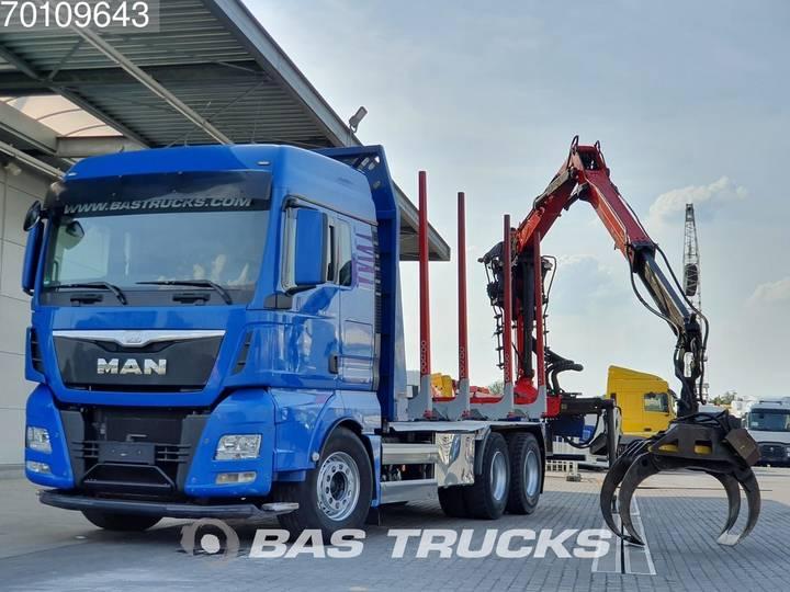TGX 33.480 XLX 6X4 Intarder Euro 6 German-Truck Palfinger... - 2015