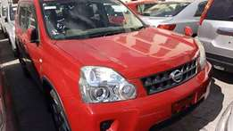 Nissan Xtrail red color