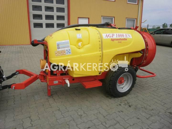 Agromechanika AGP-1000 EN trailed sprayer - 2018