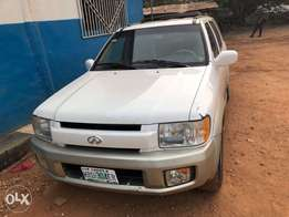 Few month used toks infinity QX4 jeep for urgent sale