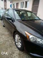 Honda accord 2009model one year used