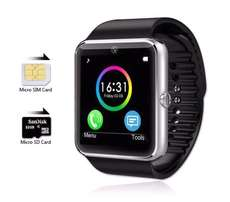 GT08 SMARTWATCH with SIM CARD & CAMERA. can make calls. (Perfect Gift)