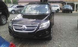 volkswagen tiguan just arrived on sale