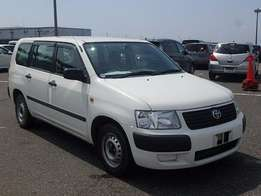 Toyota Succeed Pearl White KCN