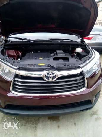 Toyota Highlander 2015 Model Tokunbo Lagos Clear Perfectly Conditions Ikeja - image 3