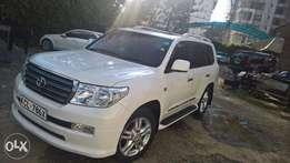 Land cruiser ZX with sunroof 2010