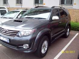 2015 Toyota Fortuner 3.0 D4 4X4 Automatic