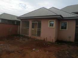 Fully detached 2bedroom modern bungalow. For let in asaba