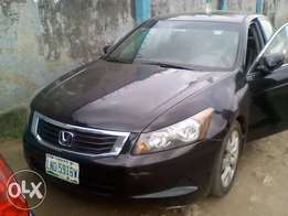 Clean 2008 Honda Accord. Full option. Good to go. First body.