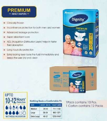 Dignity premium Adults Diapers