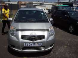 Toyota yaris 1.4 for sale R35,000