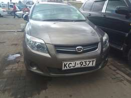 Toyota Fielder KCJ registration 2010 model 1500cc 2wd