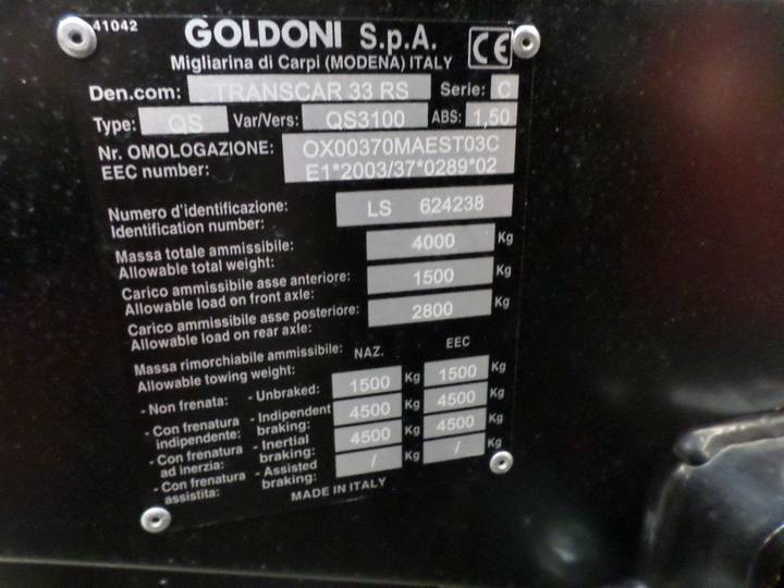 Goldoni Transcar 33rs - 2018 - image 10