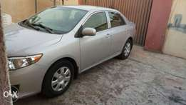 Toyota Corolla 2010 (manual gear)