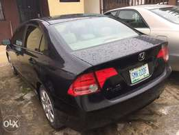 Few months registered 2007 Honda Civic