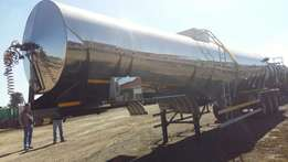 2015 Volhuter 30 000LT Tri Axle Stainless Steel Tanker for sale