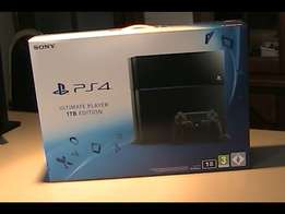 PLAYSTATION 4 CONSOLE 1TB HDD - Brand New, Still Sealed Box.