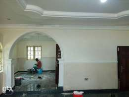 6bedrooms duplex With boy's quarter & a security house.