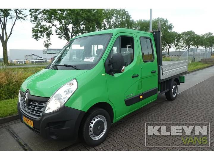 Renault MASTER 2.3 DCI 165 D dub.cabine, airco,na - 2016