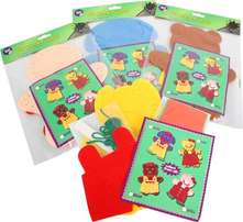 Create Hand Puppets Assorted.
