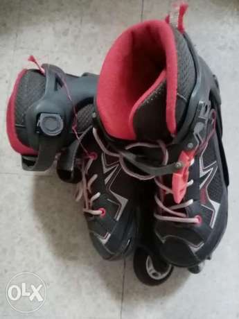 Oxelo rollers in good condition size 32-35