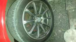 Toyota 15 inch mag wheels