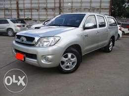 Double cabin Toyota hilux 2011 auto diesel, finance terms accepted