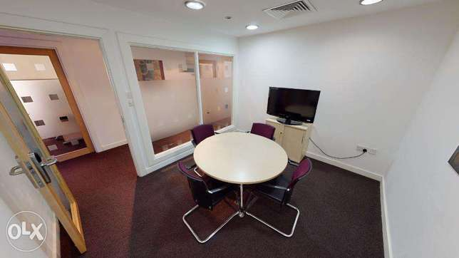 Furnished Shared Office Space from 120 OMR روي -  4