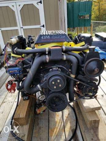 Mercruiser 4,3L , 190 hp , 50 hours from USA complete engine package