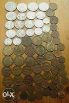 Nice lot of 74 old S.A coins